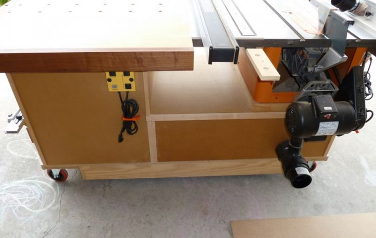 Tablesaw Workstation Woodworking Projects Amp Plans