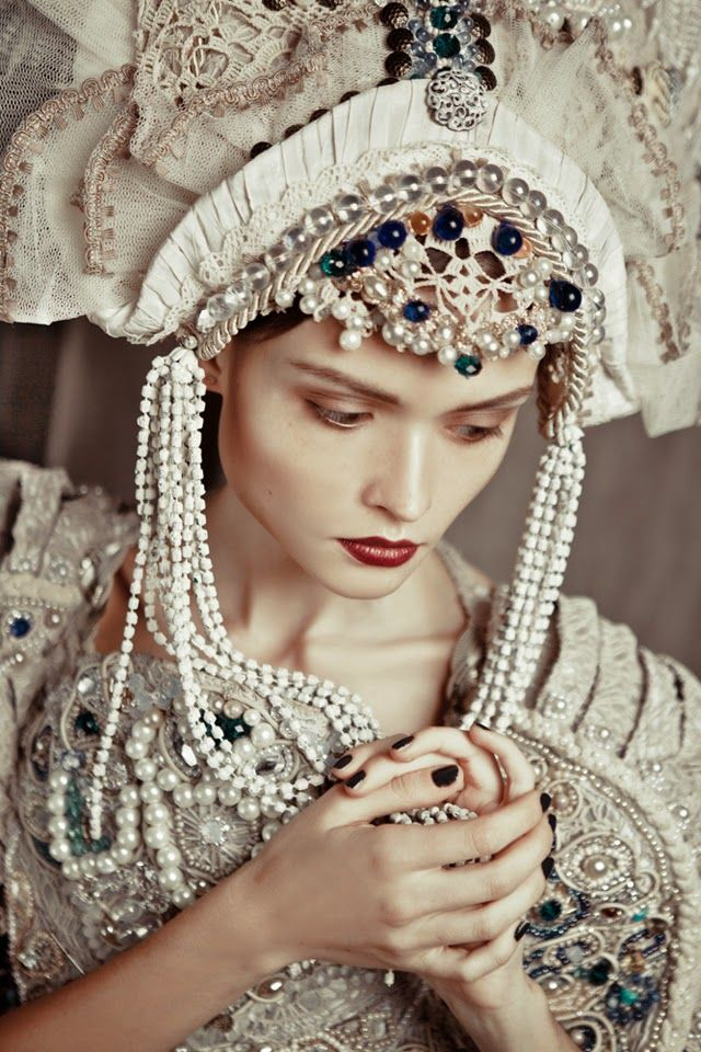 Русский стиль в современной моде и на фото / The Russian style in the modern fashion and on the photo