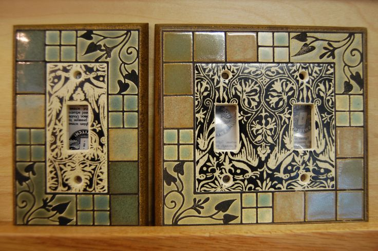 Craftsman tiles | Craftsman Tiles and Switchplates Among Eclectic Mix at The ARCH | The ...