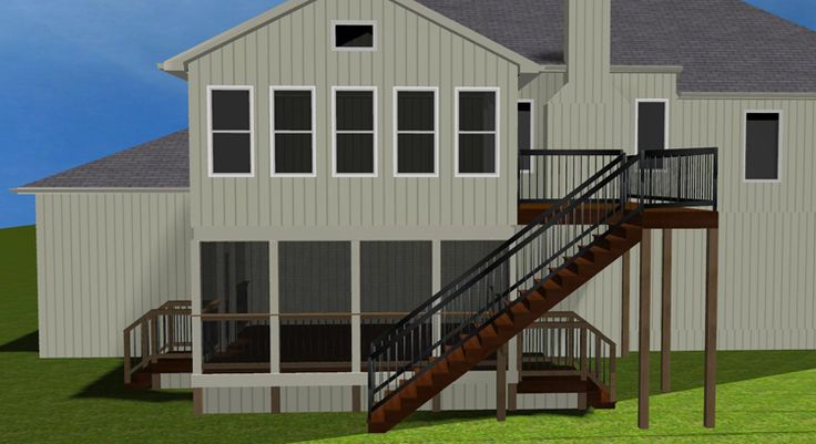 4 Season Sun Porches | ... of new 2-story 4-season porch over screened porch with adjoining deck