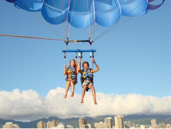 Oahu Parasailing - Hawaiian Parasail, Oahu / Waikiki tours & activities, things to do in Oahu / Waikiki | Hawaii Activities