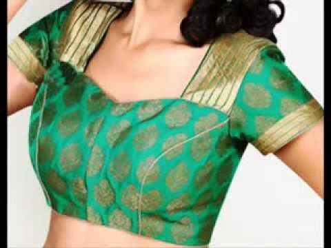 cross and straight cut katori blouse design for women