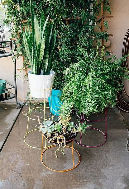 This idea costs just $10 to make, but it'll make you smile whenever you see it on your patio—and it takes just 30 minutes!