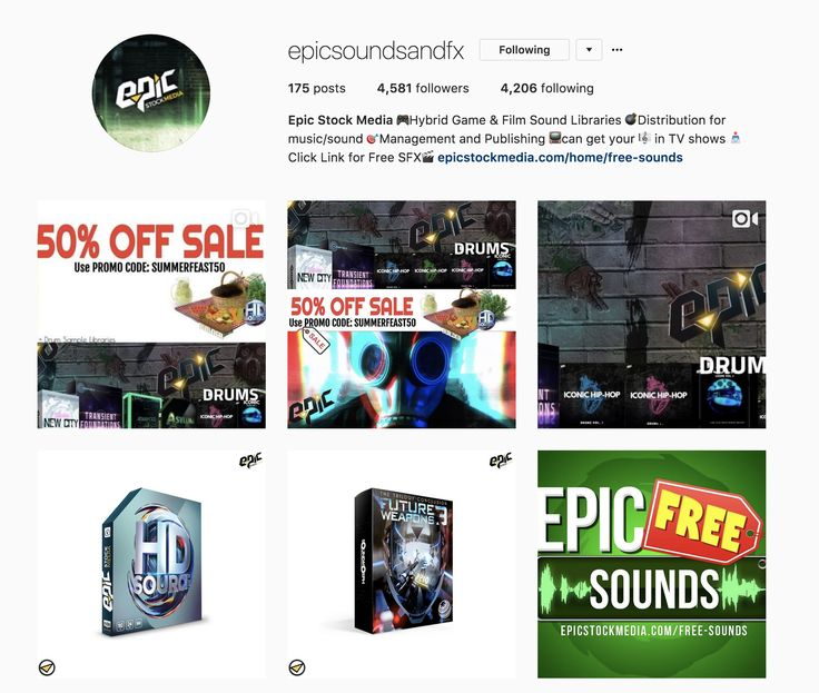 Epic Stock Media   🎮Hybrid Game & Film Sound Libraries 💣Distribution for music/sound 🎯Management and Publishing 📺can get your 🎼 in TV shows 📥Click Link for Free SFX🎬 epicstockmedia.com/home/free-sounds