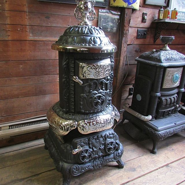 Barnstable Stove Shop. Antique Stoves in Gas, Wood and Coal. Largest Selection in the US. Over 500 antique stoves in stock at all times