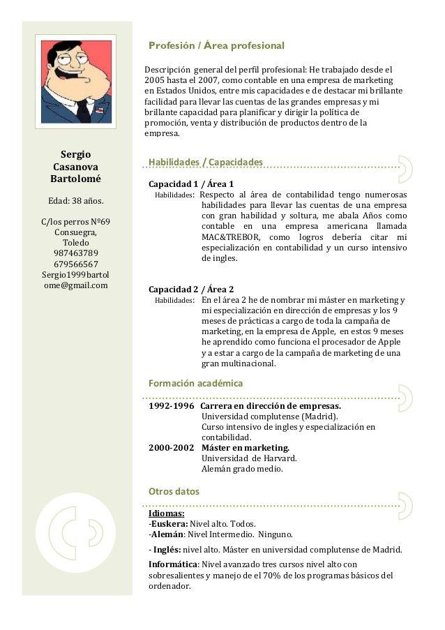 Norteamericano En 2020 Modelos De Curriculum Vitae Curriculum