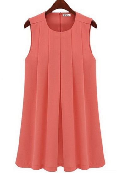 Shop Loose Frilled Chiffon Sleeveless Dress Red online. SheIn offers Loose Frilled Chiffon Sleeveless Dress Red & more to fit your fashionable needs.