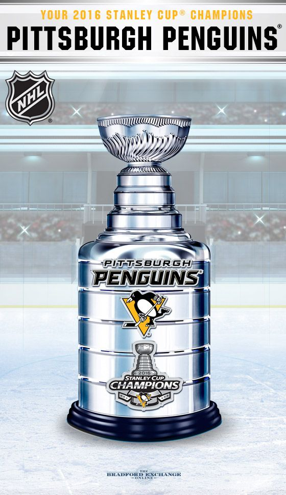Champion the Pittsburgh Penguins epic win with this commemorative 2016 Stanley Cup trophy sculpture. Hurry, as there is a limited edition of only 5,000!