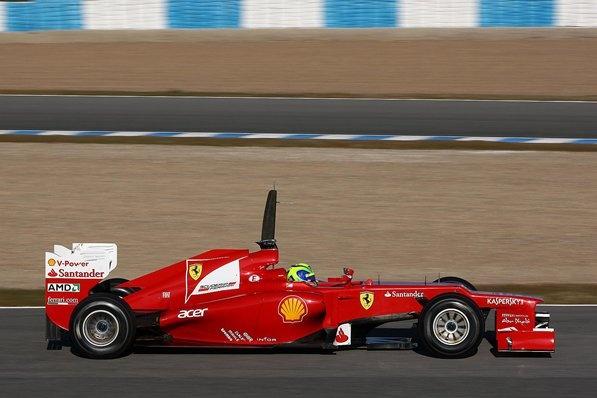 F1 Ferrari Singleseater 2012
