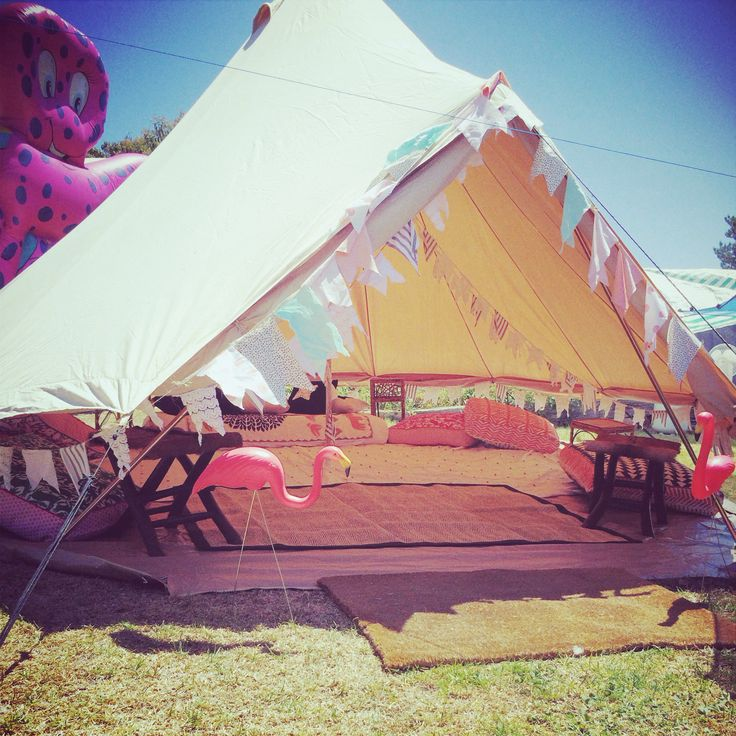 Kids play Bell Tent! - by The Avant-Garde Camping Company