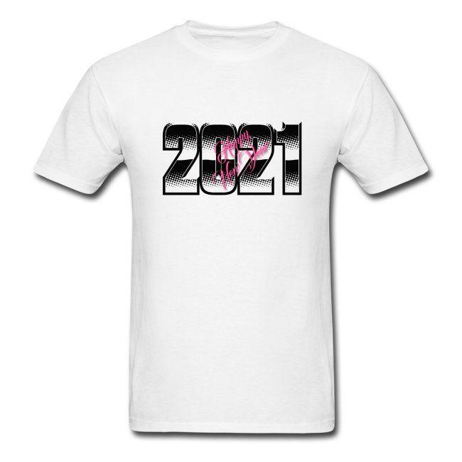 Happy New Year 2021 Mens T Shirt Badre44 In 2020 Shirts Cool T Shirts Mens Tshirts