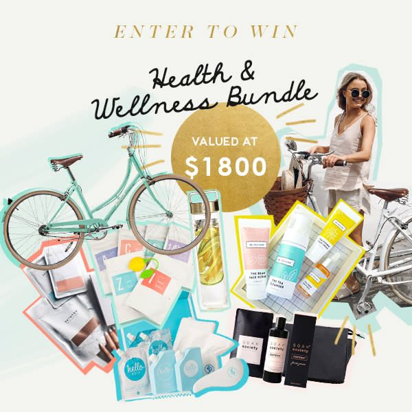 Enter to win our Health & Wellness Bundle http://swee.ps/vLMkCMxEA