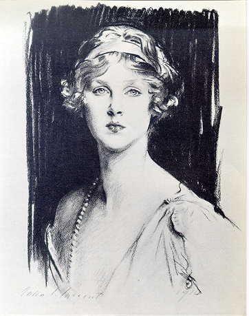 John Singer Sargent, Lady Diana Manners, 1910