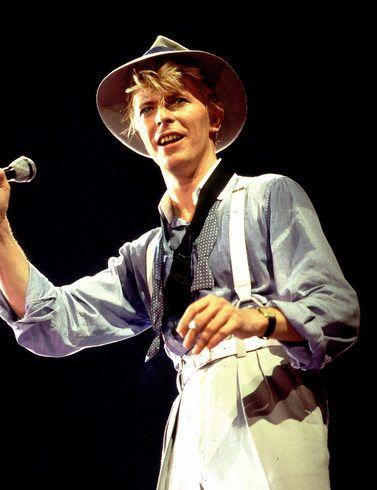 80's Bowie - Love the Zoot suit!