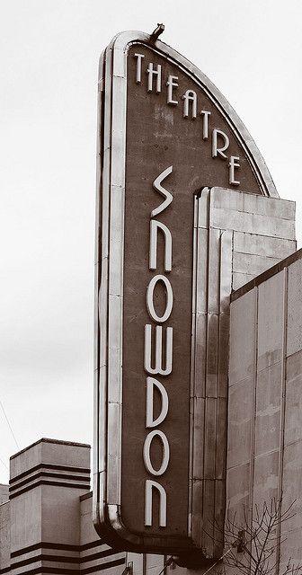 The Old Snowdon Theatre