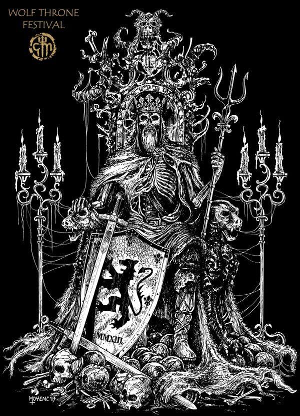 Dead King Throne Chris Moyen