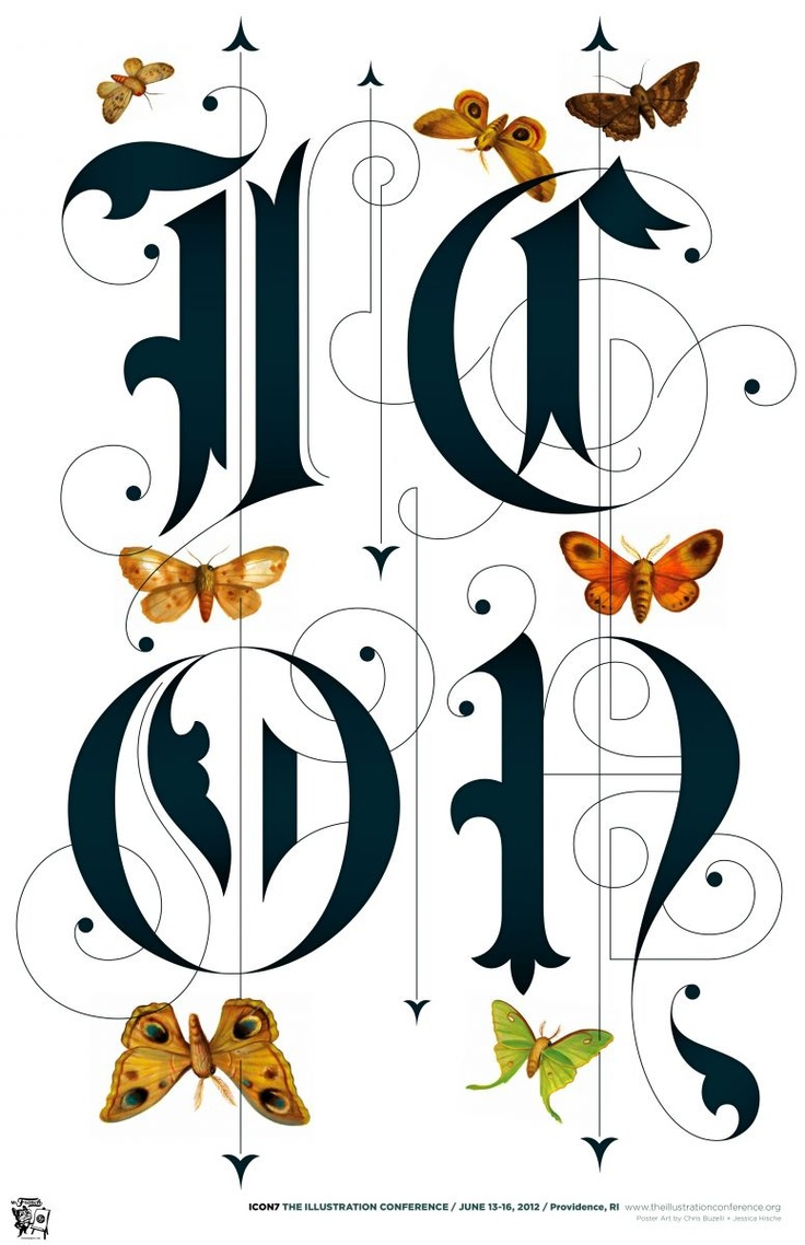 Lettering by J.Hische.