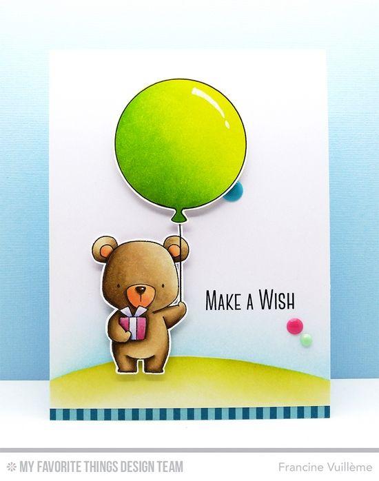 1001 cartes: My Favorite Things – Make A Wish...