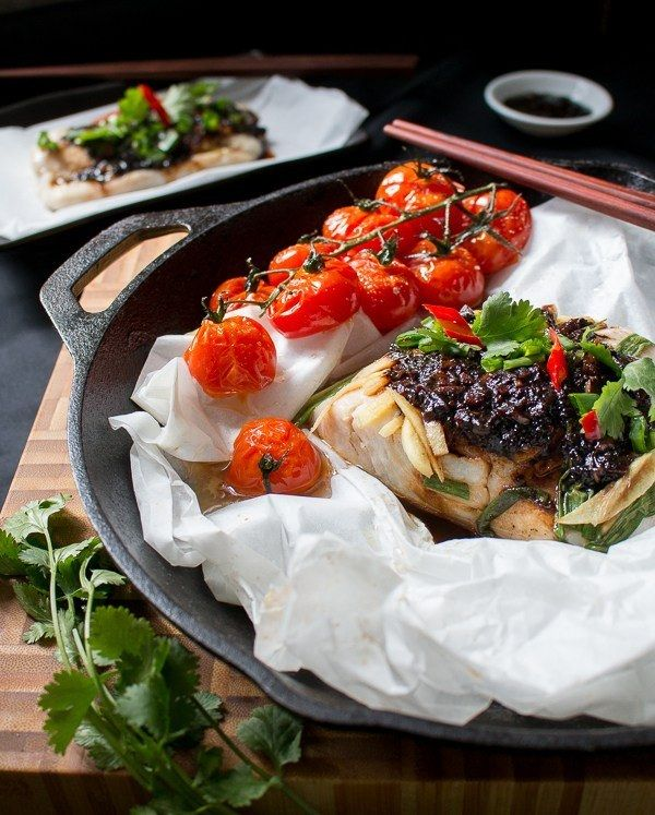Baked Cod Parcels with Black Bean Sauce | Community Post: 15 Fabulous ...