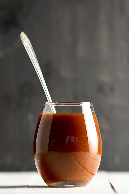 5 simple ingredients and 15 minutes will have you eating the most decadently delicious caramel sauce ever!