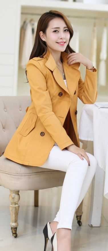 Casual Asian Trench Jacket 2014 YRB0326 £27.20