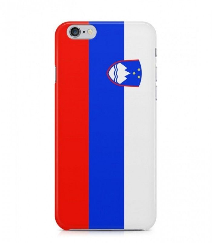 Slovenian or Slovene Flag 3D Iphone Case for Iphone 3G/4/4g/4s/5/5s/6/6s/6s Plus - FLAG-SI - FavCases