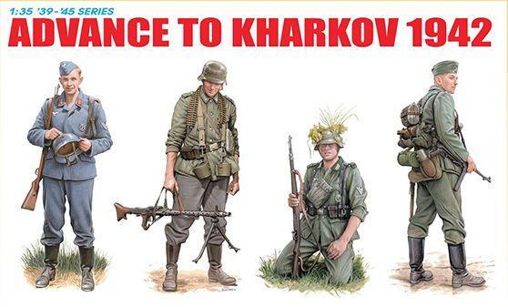 Scale Model - Kit Advance To Kharkov 1942 – DRAGON 6656