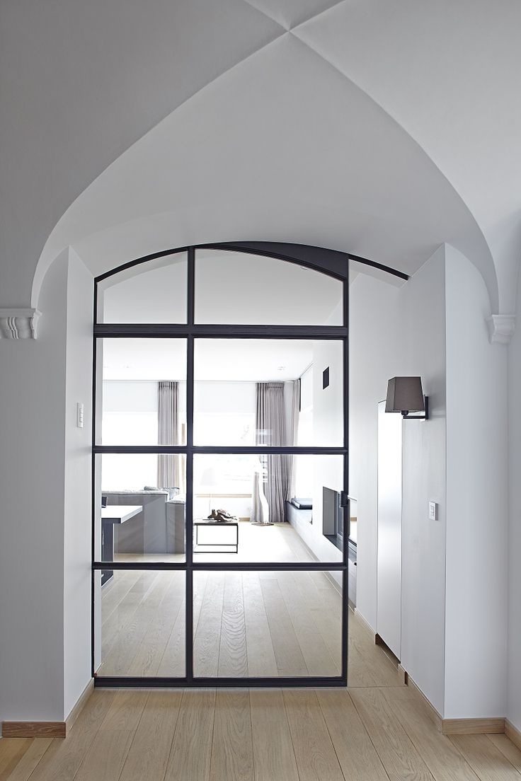 DOORS AND DOORWAYS: #1 Metal-framed door by ODS Jansen