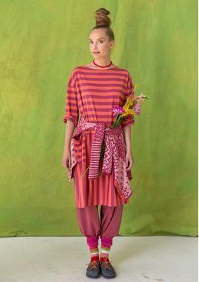 Gestreiftes Kleid aus Öko-Baumwolle 70703-32.tif