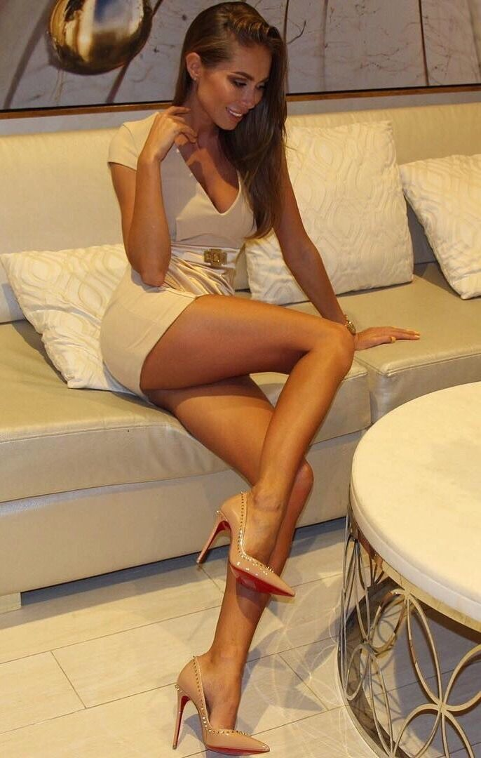 Asian white pantyhose