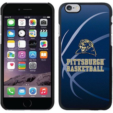 University of Pittsburgh Basketball Design on Apple iPhone 6 Microshell Snap-on Case