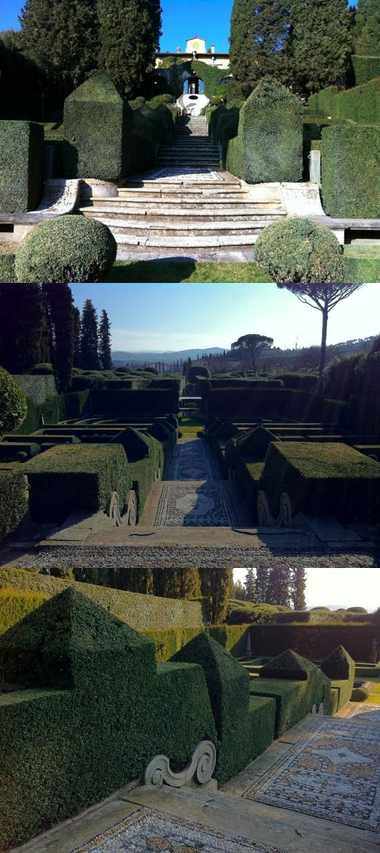 (Villa I Tatti's Garden. Simple, elegant and...)
