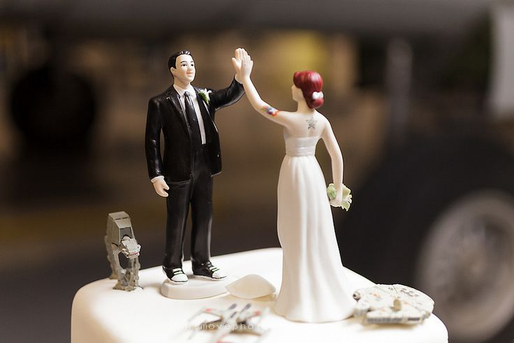 Used High Five Wedding Cake Toppers