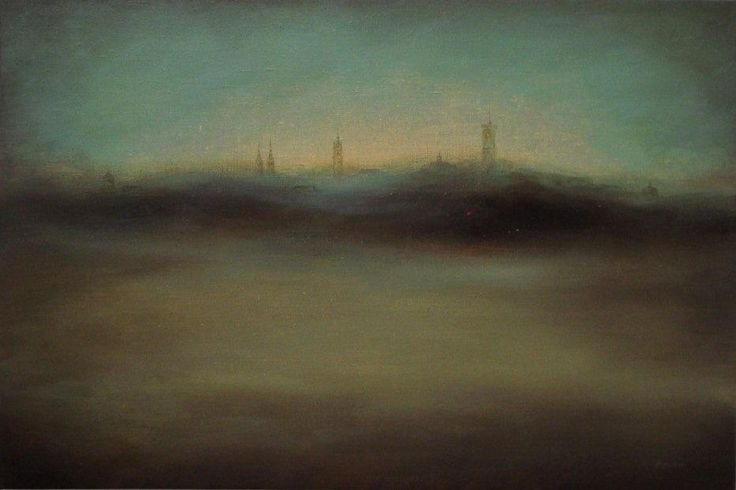 One of the artworks from collection of our coming auction - 18 October - more info soon. 'The forgotten city' by Arsen Bereza Oil on canvas; 120 x 80 cm; realism.  www.studentartworks.org