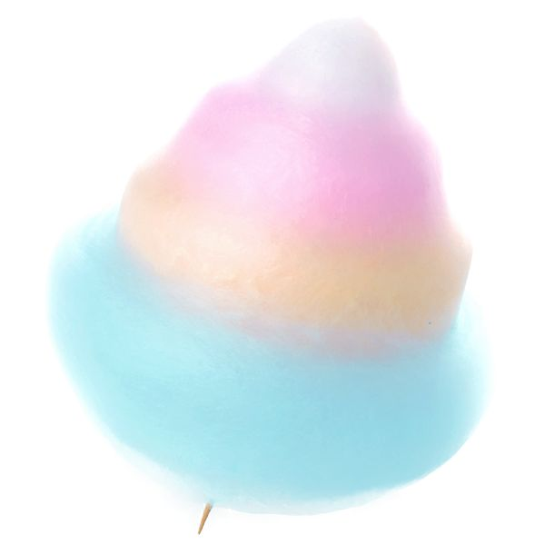 Totti Candy Factory | Tokyo **Four-color Cotton Candy**