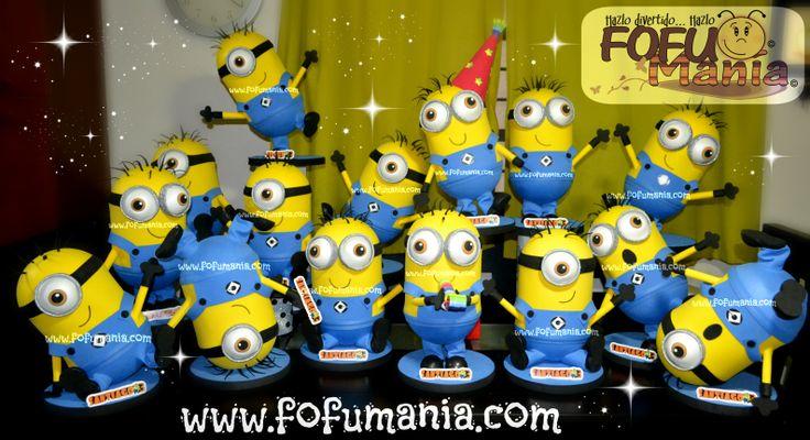 centros de mesa minions, fiesta   Fiesta Minions   Pinterest   Minions ...