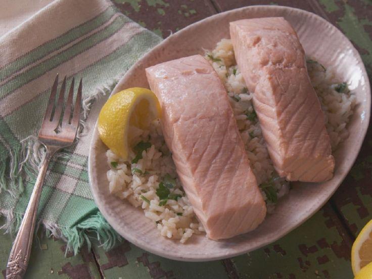 Epicurious poached salmon recipes