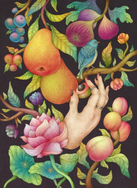 My Secret Garden. Olga Svart Illustration