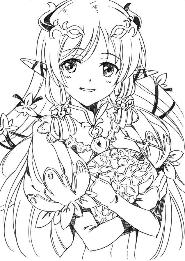 pia breum coloring pages - photo#5