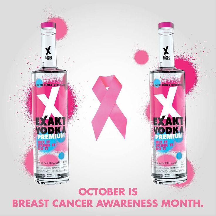 breast cancer awareness!  #EXAKT #VODKA #EXAKTVODKA #PARTY