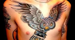 Google Image Result for http://www.mentattoos.com/wp-content/uploads/2013/04/Flying-owl-chest-tattoo-550x300.jpg