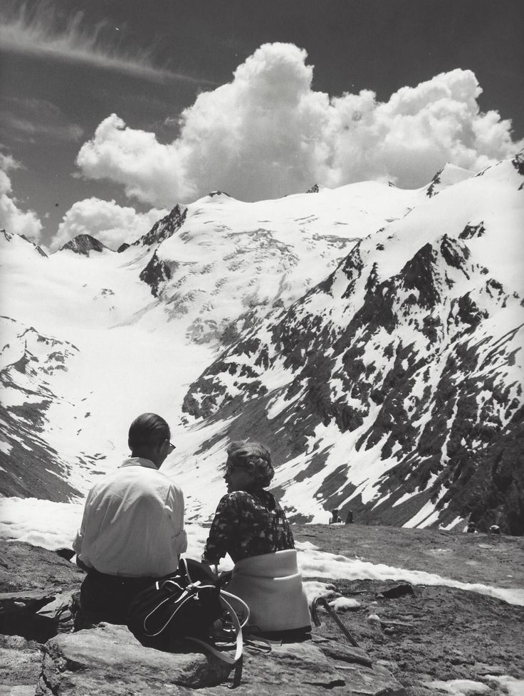 Kees Scherer Obergurgl, Austria 1965