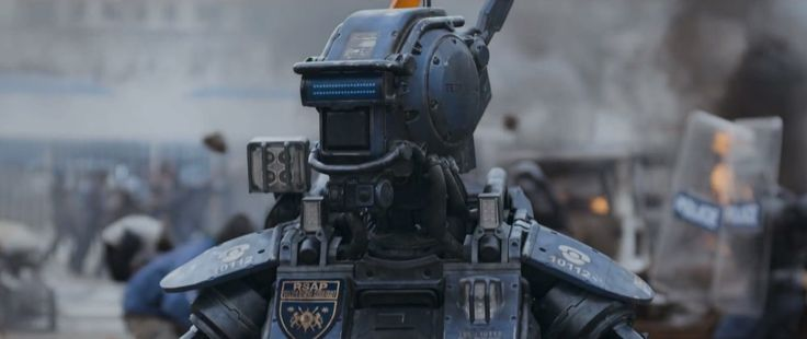 Chappie Film | Fat Movie Guy | Chappie Trailer and Movie Poster