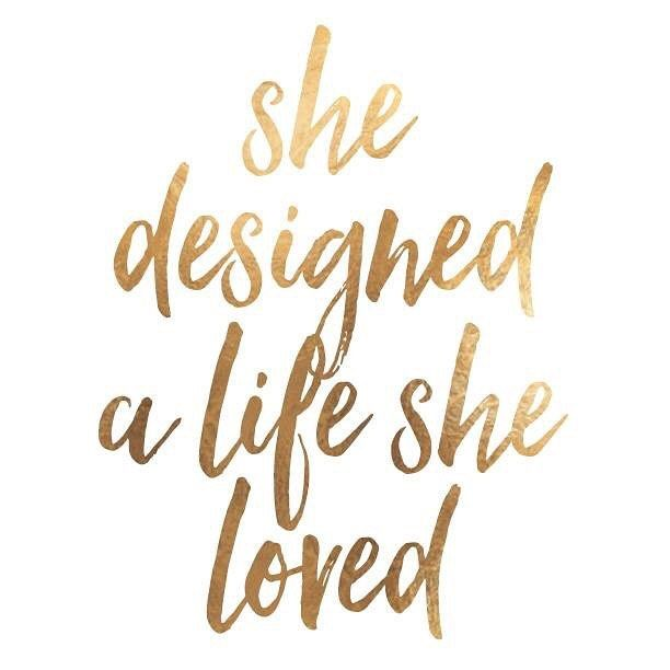 She designed a life she loved! #entrepreneur #mompreneur  #noregrets