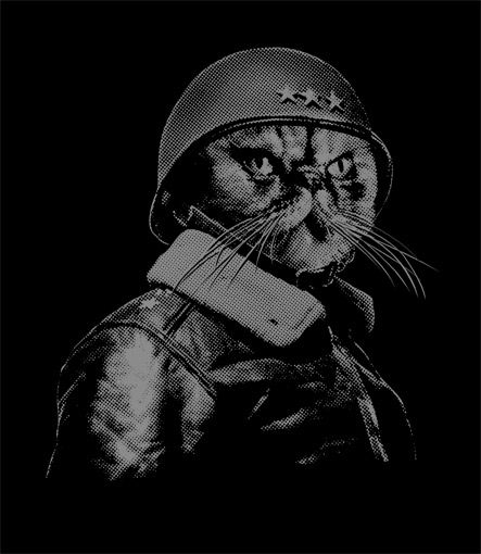 @Demonika   Saw this... for some reason thought of you  General Catton t-shirt design