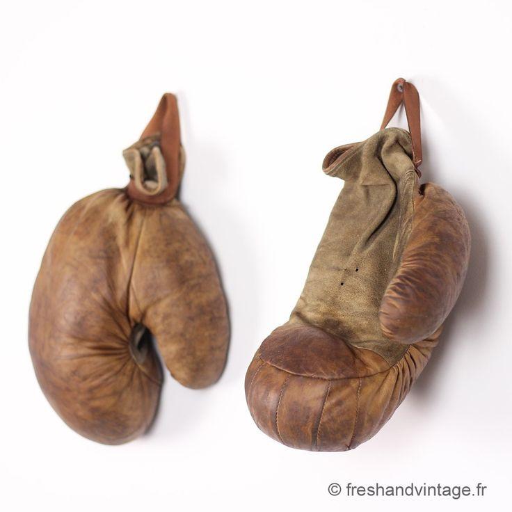 Les 25 meilleures id es de la cat gorie gants de boxe sur - Gants de boxe vintage ...