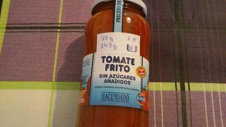 Tomate frito sin azucares Hacendado