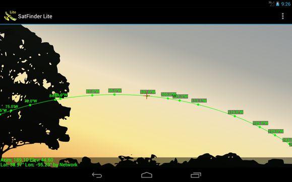 Meilleures applications android pour fixer une parabole et chercher le signal des chaines tv
