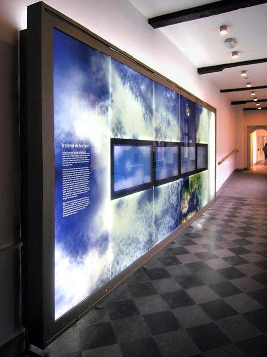 The Irish College Exhibits: Louvain Institute. Small Design Firm (David Small)