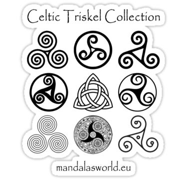 Triskel Collection Light design in darkgrey tone just arrived from the Irish and Scottish Celtic traditions • Also buy this artwork on stickers, apparel, and phone cases.